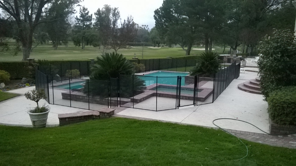 Viking Premium Pool Fence Black